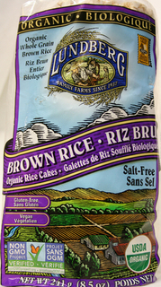 Rice Cakes - Brown, Unsalted