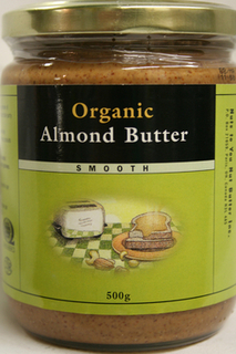 Almond Butter - Smooth ORGANIC