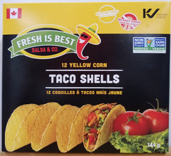 Taco Shells Yellow (Fresh Is Best)