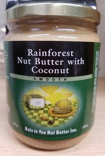 Rainforest Nut Butter with Coconut (Nuts to You)