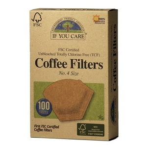 Filters Coffee - Unbleached No.4