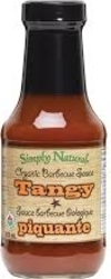 BBQ Sauce -Tangy (Simply Natural)