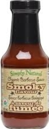 BBQ Sauce - Smoky Flavour (Simply Natural)