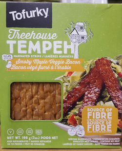 Tempeh Marinated - Smoky Maple Meatless Bacon