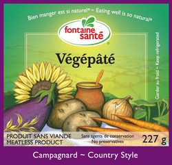 Vegepate Country Style (fontaine sante)