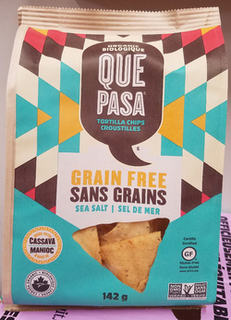 Tortilla Chips GF - Cassava SEA SALT (Que Pasa)